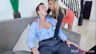 Alexis Fawx's keen interest on creampie gets SON horny