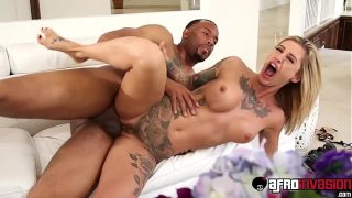 Bitchy Kleio Valentien disciplined by step brothers thick Bbc