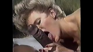 Black cocks vintage horny blonde step mom loves black cock