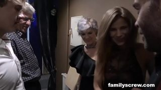 Horny Family Visits Swingers Club