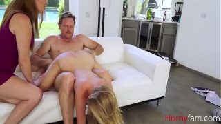 MOM is okay with DAD fucking Step DAUGHTER