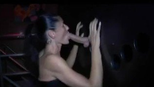 real swinger in a club