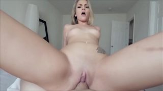 She Gets Some Help and Cock From BROTHER- Candy White