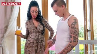 Step Son gets in Bed with Mom After Being Seduced xxx