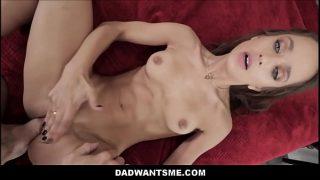Young Petite Teen Stepdaughter Uma Jolie Makes Sex Tape With Big Dick Stepdad